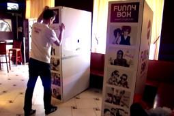 montáž fotobúdky funnybox